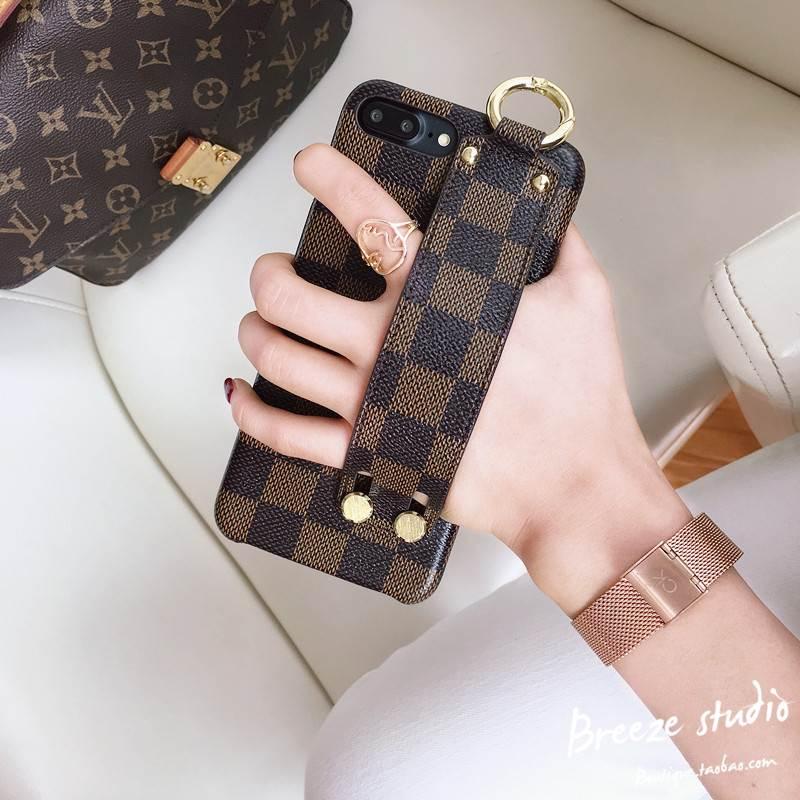 欧美iPhone7plus手机壳苹果6s奢华大气腕带8男女新款X潮牌韩国6P