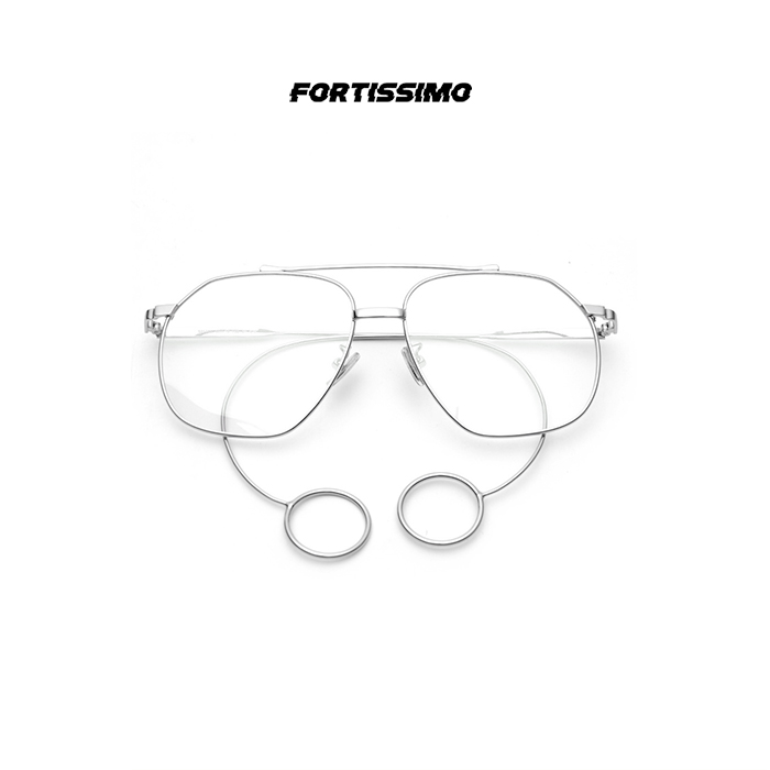 Stainless steel fashionable sunglasses for men and women