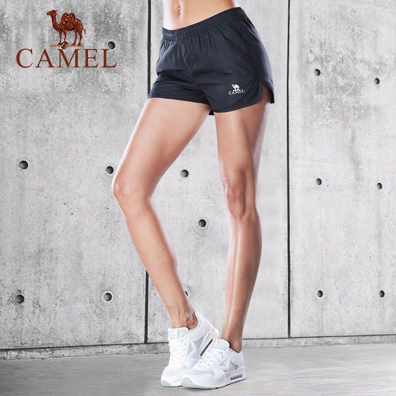 18年新款运动短裤女宽松跑步透气健身热裤训练瑜伽裤快干夏季运动
