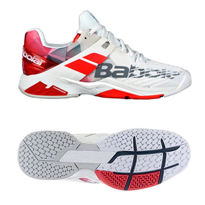Purchasing Babolat mens tennis shoes propulse AC white 30 s18208