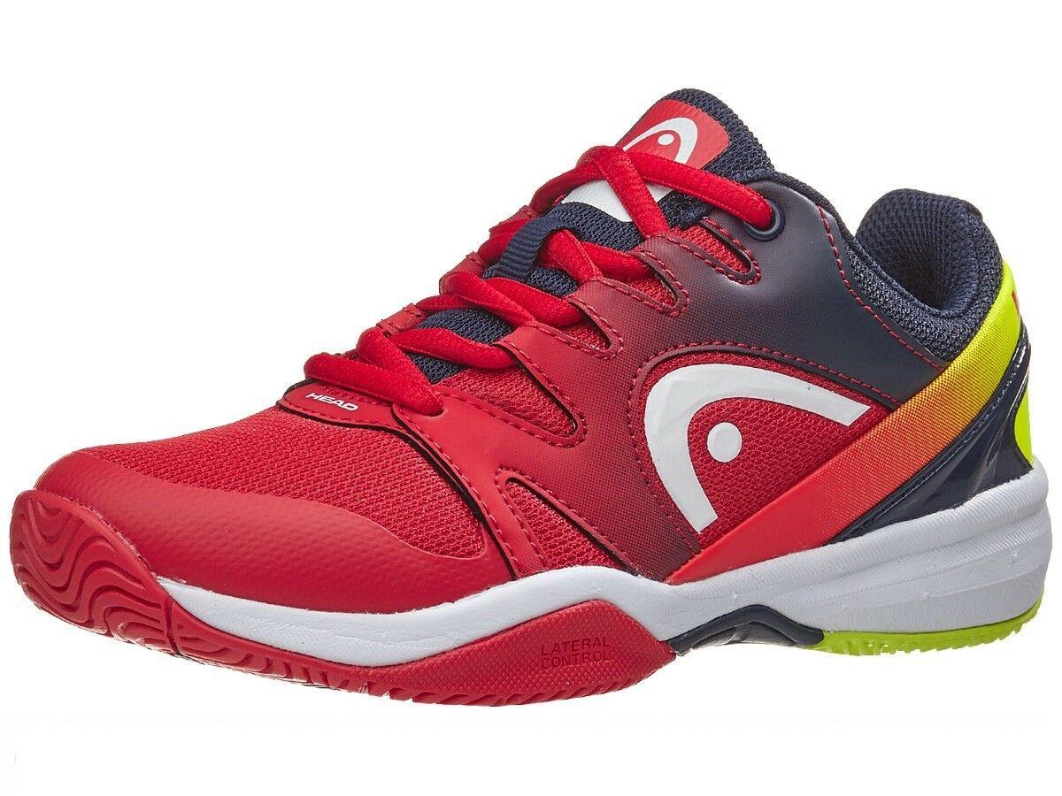 代购 HEAD冲刺2.0初级网球鞋020红色黑色虹膜275128 - 020