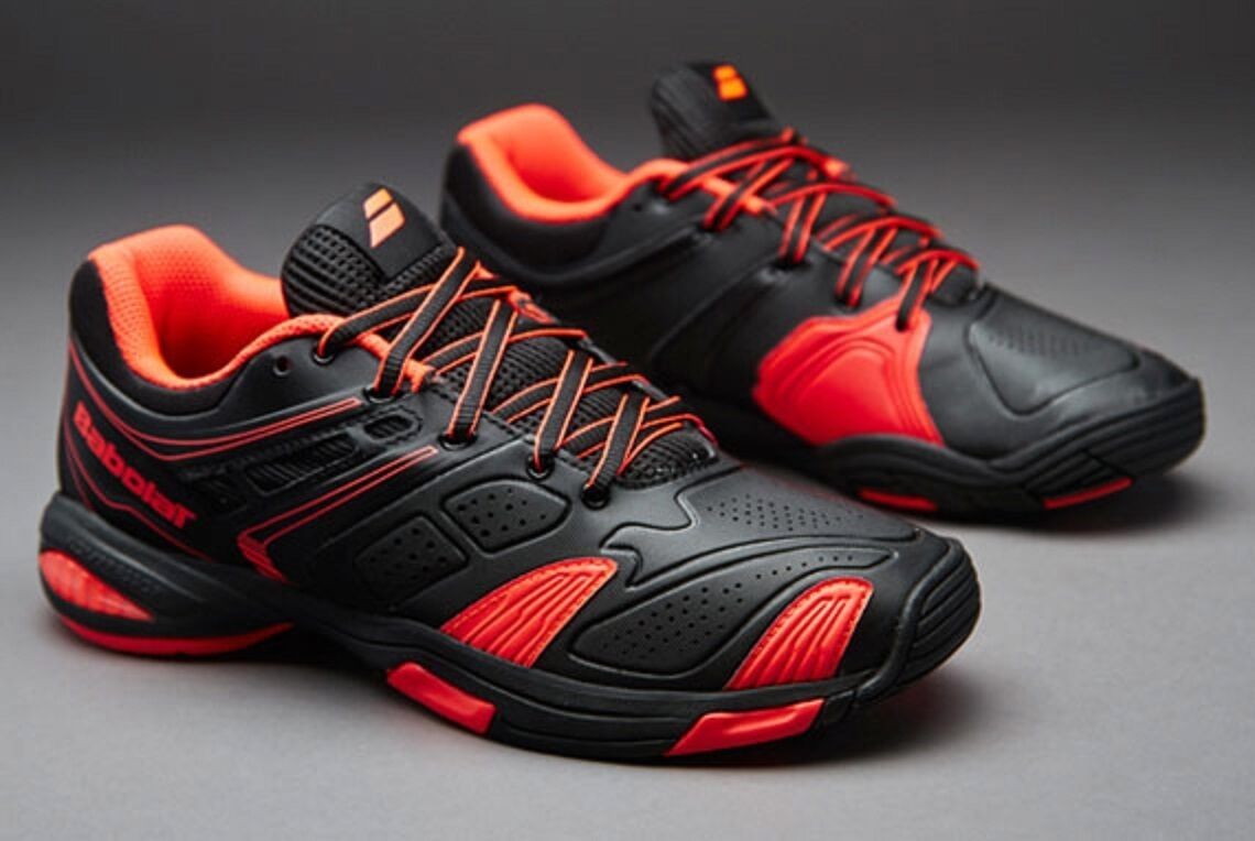 Purchase Babolat v-pro 2 primary black fluored tennis shoes 32 s1305 2