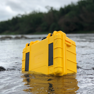 摄影器材手提箱单反相机镜头防护塑料安全箱小防水防潮数码海绵箱