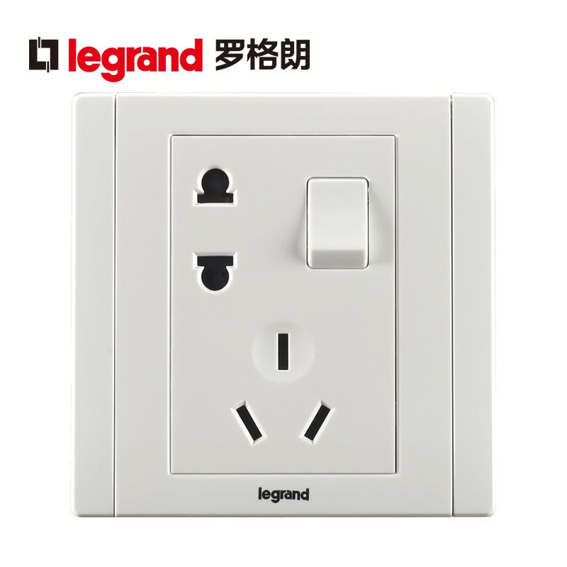 ログ朗TCLスイッチ壁の電源コンセントの美味白10 Aはスイッチを持っています。