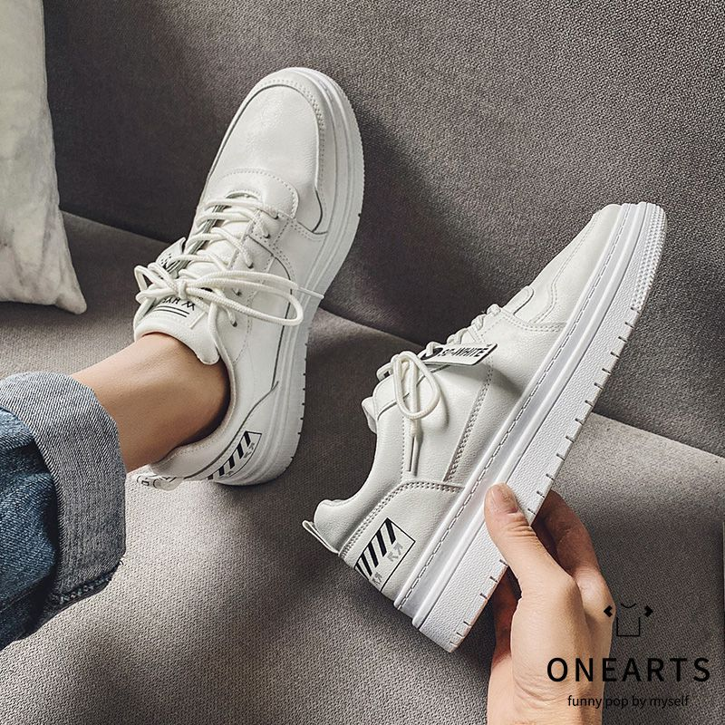 @A pair of literary and artistic mens shoes mens Korean board shoes versatile casual shoes low top sports mens shoes spring fashion shoes