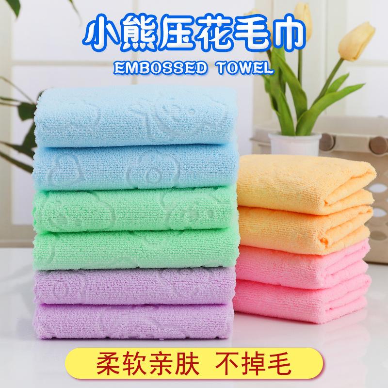 一次性毛巾理发店用擦碎头发细纤维纳米家居清洁厨房抹布特价毛巾