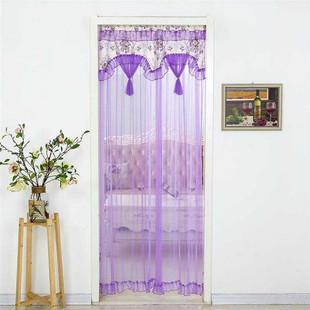防蚊魔术贴房间夏季纱网家用纱门拉手 粘贴式纱帘门帘透光双层