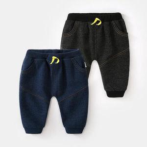 婴儿裤子春秋婴幼儿外穿男牛仔裤