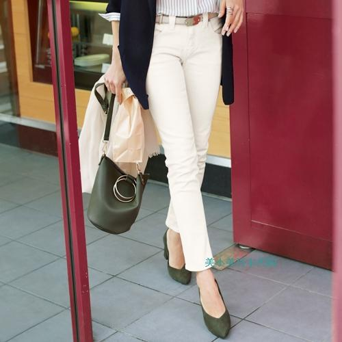 Made in Japan to buy high-end womens clothing genuine stretch leg favorite boyfriends fashion white jeans pants