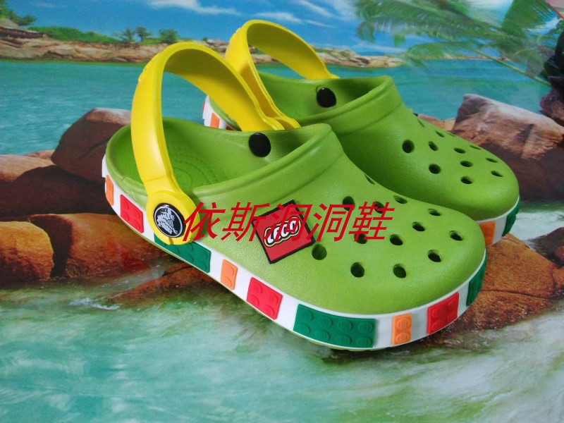 Summer baby childrens hole shoes mens and womens travel beach sandals outdoor Baotou anti slip breathable slippers