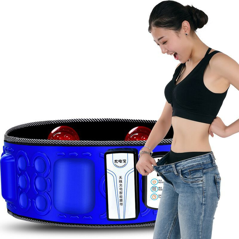 X5 times wireless charging fat throwing machine shaking machine weight reducer shaking fat burning fat slimming belt lazy thin belly