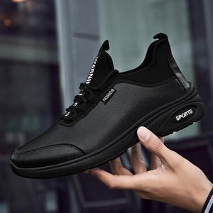 新站地秋季百搭新品英倫風增高男士鞋子黑色休閑商務皮鞋防滑鞋底