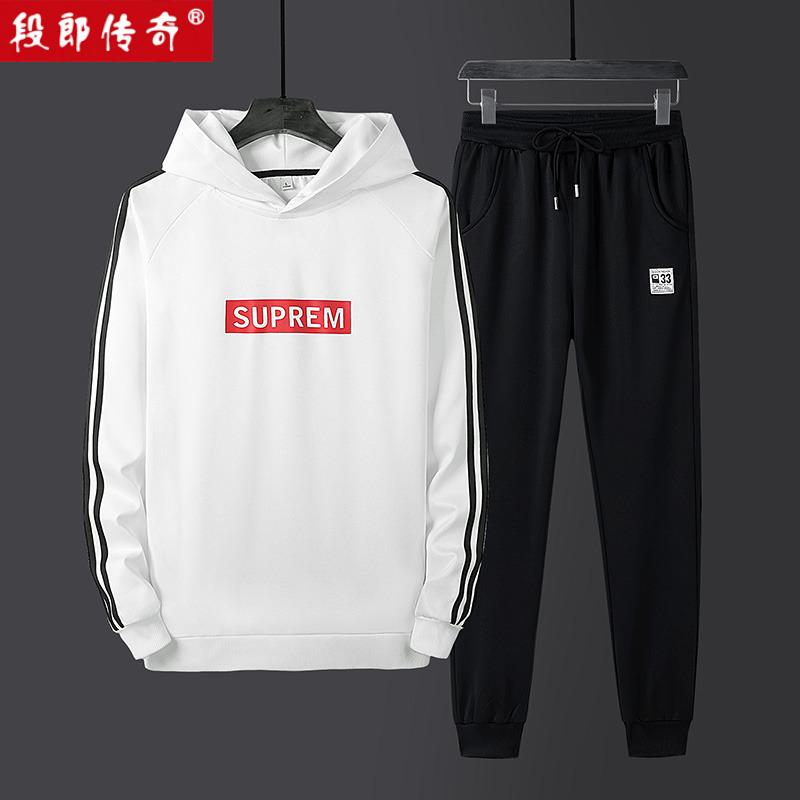 段郎传奇春季男两件套休闲运动裤子398.00元包邮
