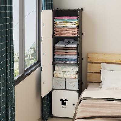 小衣柜简易宿舍单人出租房家用卧室现代简约组装塑料储物收纳柜子