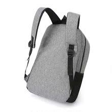 可擴容雙肩包男商務多功能短途出差旅行包15.6寸電腦包大容量背包