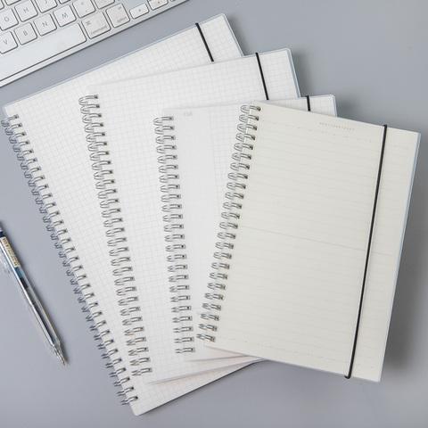 Joytop悦木A4康奈尔笔记本子简约学生线圈本B5精致加厚螺旋记事本横线页作业本练习本文具本子方格学生记事本