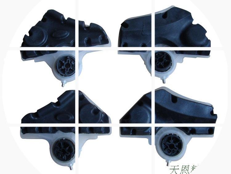 足部通用 机夹板(配件夹板、橡胶、轴承)包括健尔马按摩器足疗