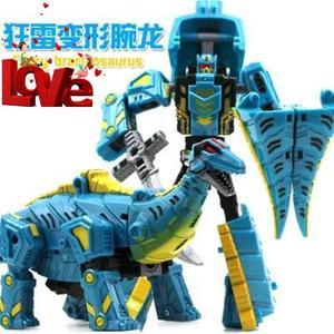 经典m实用变形车机器人玩具金刚恐龙模型变形机械龙小男孩儿童玩
