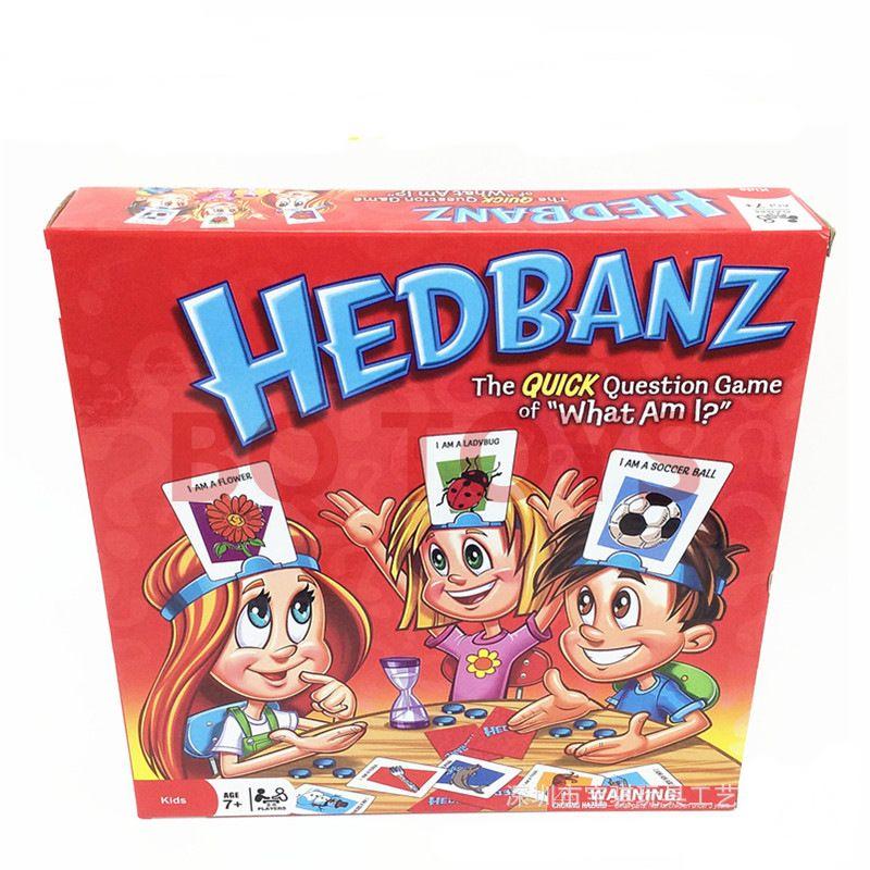 英文桌游卡牌游戏who am I猜猜我是谁HEDBANZ GAME口语锻炼说英语
