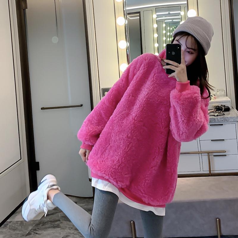 韩版奶兔星球店铺可可里小姐娃娃家潮流女装卫衣外套秋装新品潮