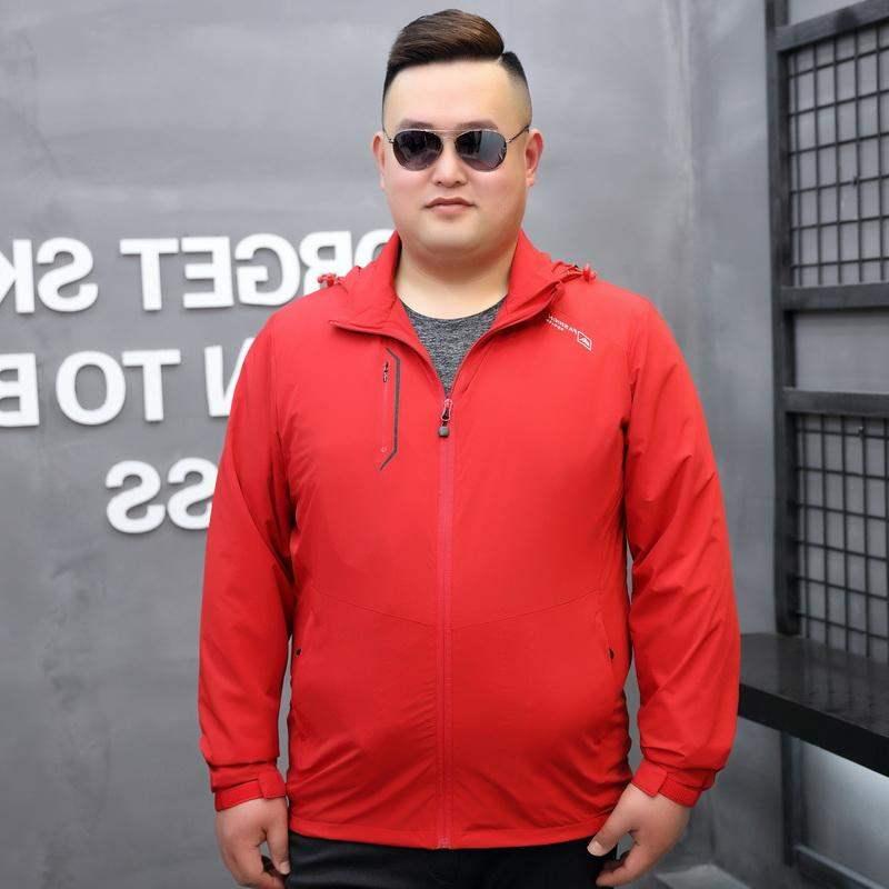 Mens oversized plus size red Blazer
