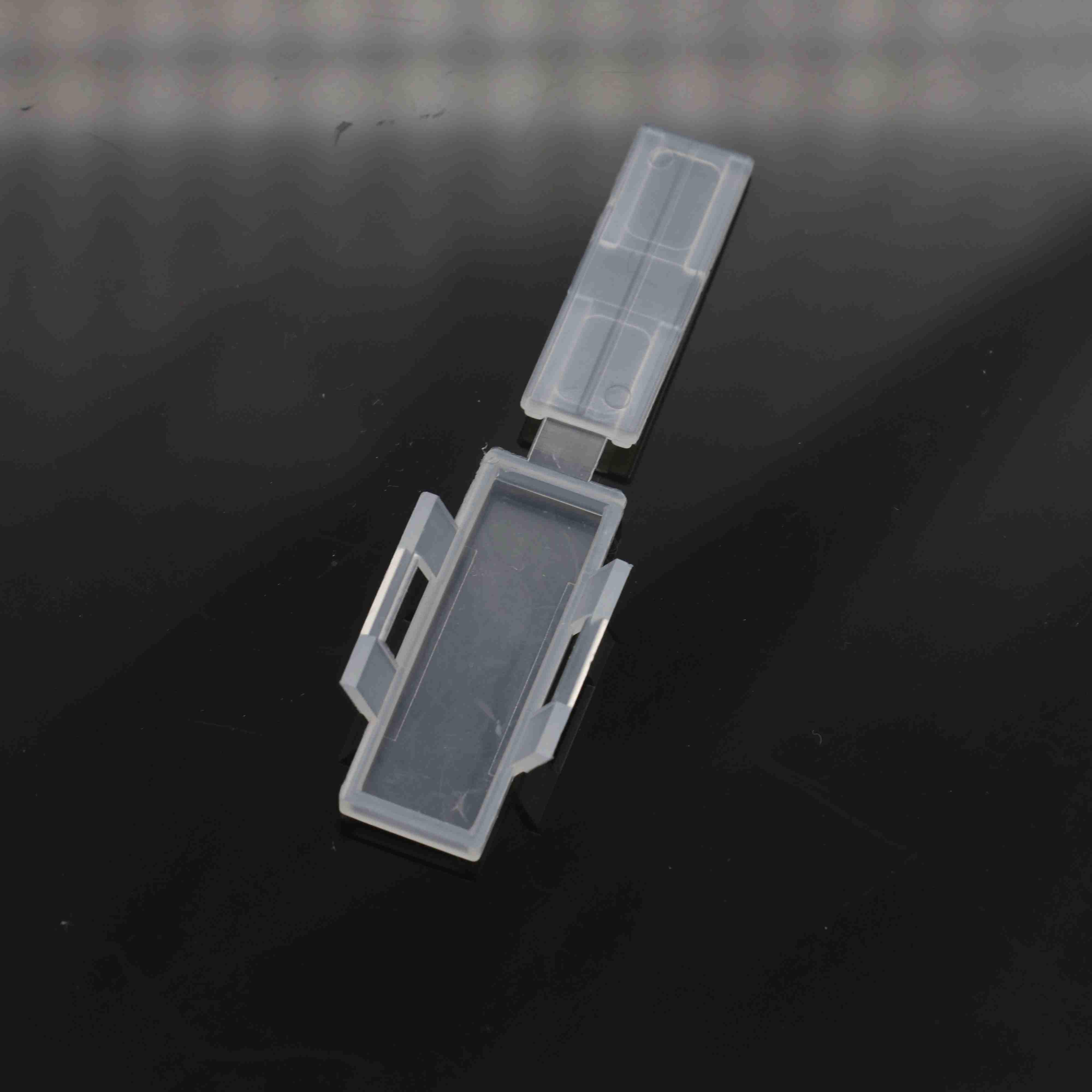 软塑料3010防水透明电线电缆标牌标志牌标识框扎带标示挂牌标签纸