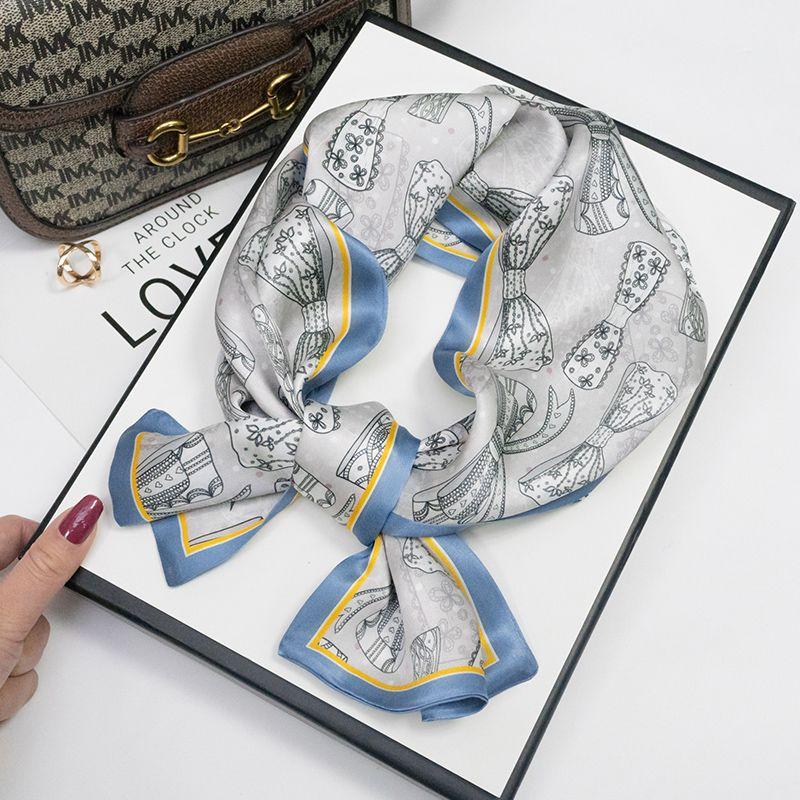 [lace butterfly] silk scarves for women