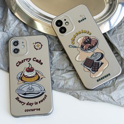 壳试验casetest原创情侣仿金属适用iPhone12promax苹果13手机壳女