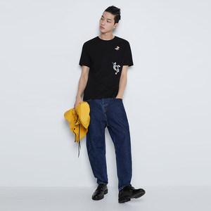 ZA夏装 新款 男装1259/310©华纳兄弟猫和老鼠短袖T恤1259310800