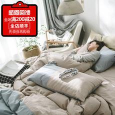 Комплект постельного белья Нордический простой хлопок