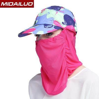 帽子男遮阳帽遮脸防晒帽户外太阳帽男女夏天护颈运动骑车透气