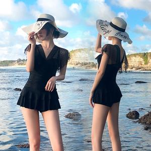 领5元券购买女2019新款仙女范ins风性感款泳衣