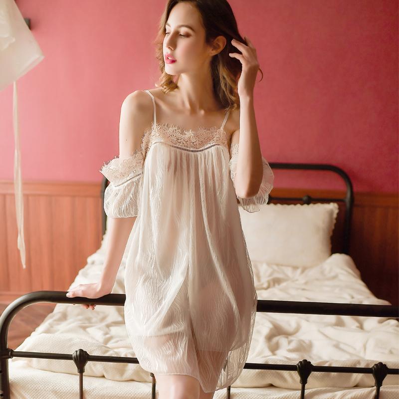 情趣内衣透明睡衣性感骚挑逗床上激情套装超骚露乳小胸睡裙诱惑女图片