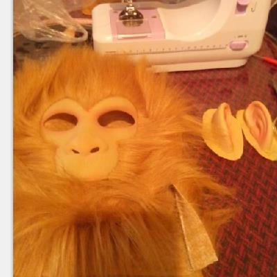 孙悟空面具cos西游记角色扮演唐僧师徒猴子猩猩猿万圣节头套道具