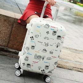 密码母子箱英伦风24寸搬家简约创意商务复古拉杆行李箱万向轮个性