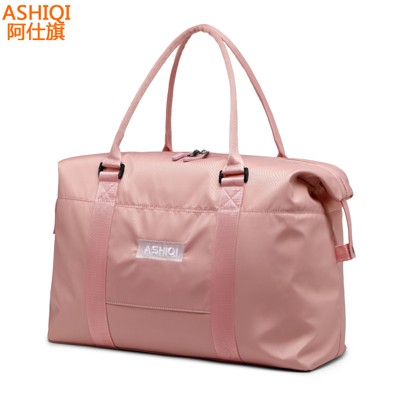Travel Bag Women's Handbag Large Capacity Short-distance Business Luggage, Clothing Bag, Portable Travel Bag Net Red Travel Bag