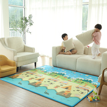 Children's crawling pad thickened pad baby's living room crawling pad foldable baby's household fall proof sheet