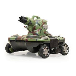 遥控坦克可发水弹开炮水陆两栖99虎式小型充电儿童玩具越野漂移车