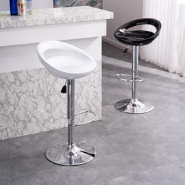 吧台椅现代简约酒吧凳高凳升降吧椅前台椅子靠背家用高脚凳子铁艺
