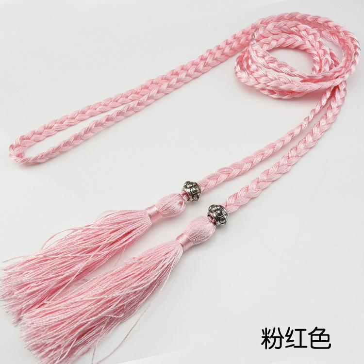 Hair rope female tie hair ribbon ribbon fairy ancient wind ancient wind hair rope Han suit tassel red head rope fairy hair belt ancient waist