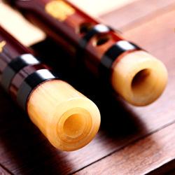 高档长笛子玉笛古风白玉横笛陈情令苦竹笛专业演奏级高级初学成人
