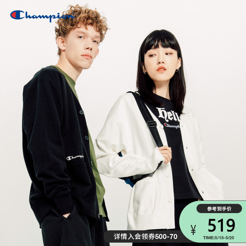 Champion champion jacket 2021 new spring and summer embroidery logo couple casual cotton thin coat no sex