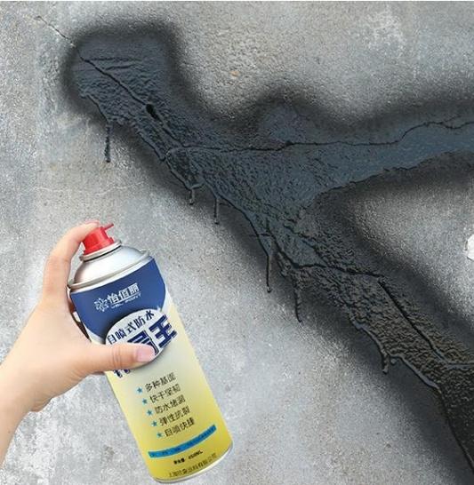 深圳防水补漏维修室内堵漏灵防潮墙缝房屋平房裂缝墙面自喷漆室外