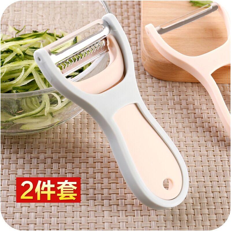 多功能削皮刀厨房不锈钢去皮器苹果土豆瓜果水果刀刮丝刀刨丝神器
