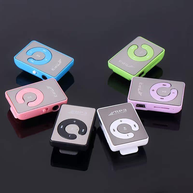 包邮mp3播放器学生跑步随身听有屏插卡带外放可爱迷你音乐mp4