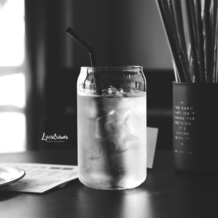 限5000张券小西郊易拉罐造型冰拿铁冰玻璃杯