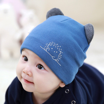 Baby hat warm Autumn Winter 0-3-6-12 months newborn baby boys and girls newborn toddler tire cap Cotton