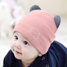 Baby hats keep warm in autumn and winter 0-3-6-12 months neonatal cotton hats for boys and girls