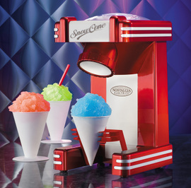 美国Nostalgia冰沙机家用小型 电动商用全自动diy自制儿童刨冰机