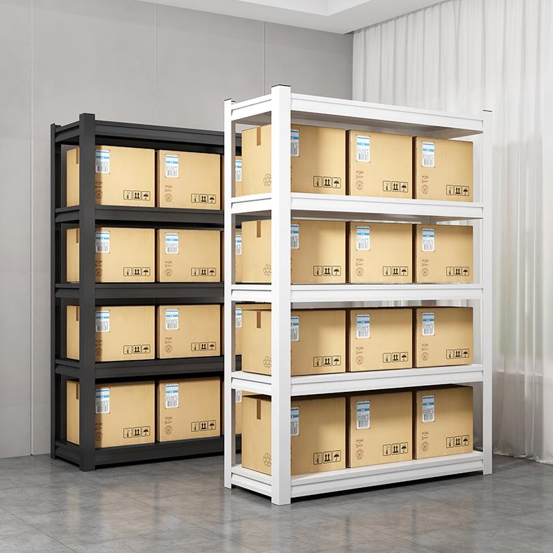 家用货架置物架落地多层仓储超市阳台展示架车库地下室储藏杂物架